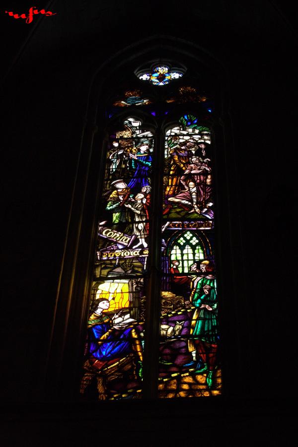 fotos vidriera catedral de manresa