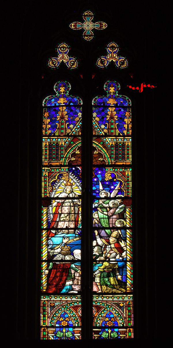 vidrieras catedral de manresa