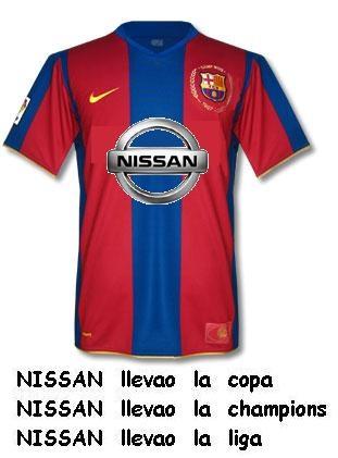 camiseta fc barcelona 2008