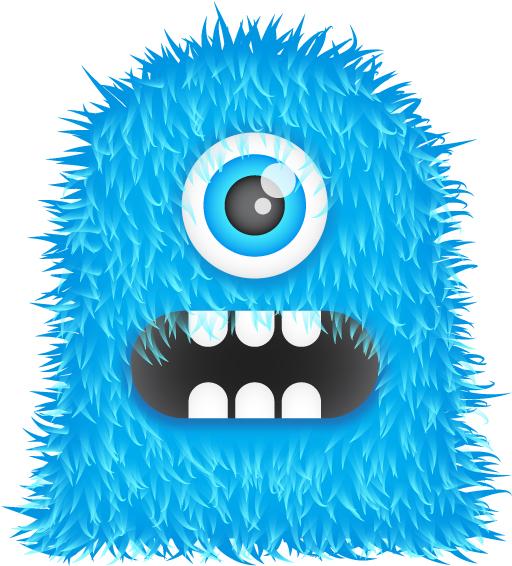 Blue-Monster