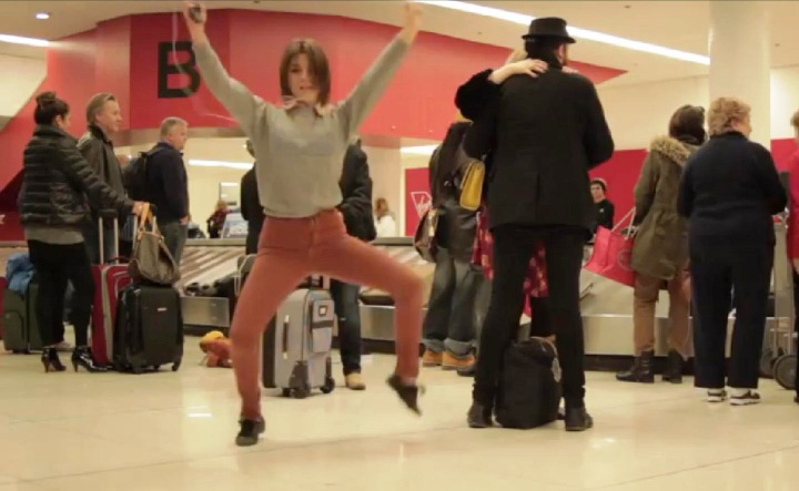 Dance-Like-Nobodys-Watching-at-the-Airport Angela Trimbur