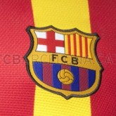 2a equipacion fc barcelona 2013 2014 cataluña