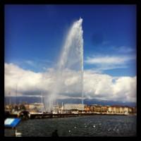 Jet D'eau Geneva Geiser Ginebra