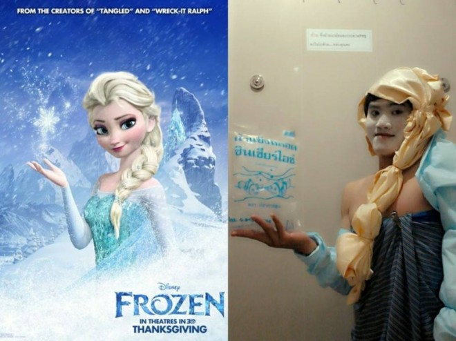 low cost cosplay frozen